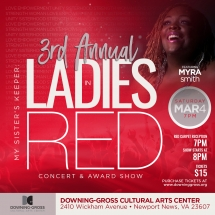Ladies in Red Concert