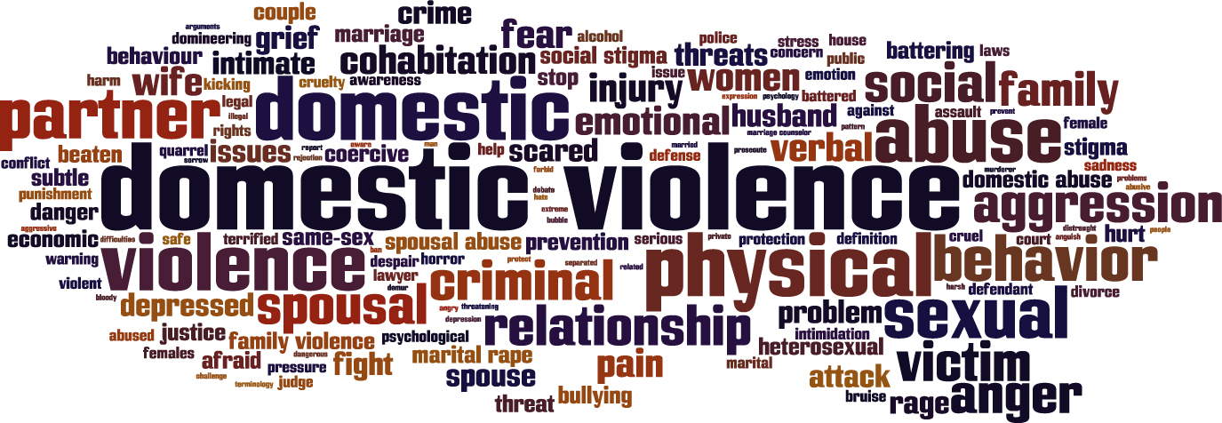 domestic violence key terms