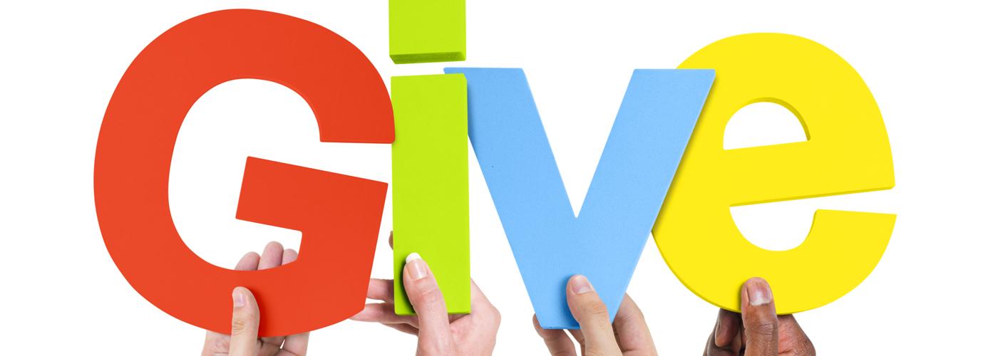 donate sponsor give
